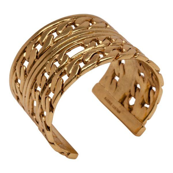 B58086.30 Bracelet doré à l'or fin 24 carats