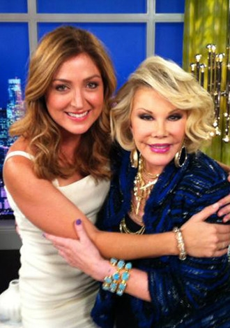 Worn by TV Personality Joan Rivers on Fashion Police! on E!