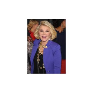 Worn by TV Personality Joan Rivers to Attend the New York Fashion Week Spring/Summer