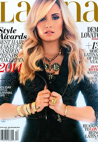 Demi Lovato on the Cover of Latina Magazine