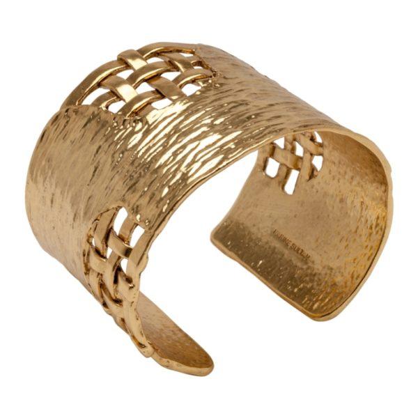 B56069.30 - Bracelet doré à l'or fin 24 carats avec un design tréssé