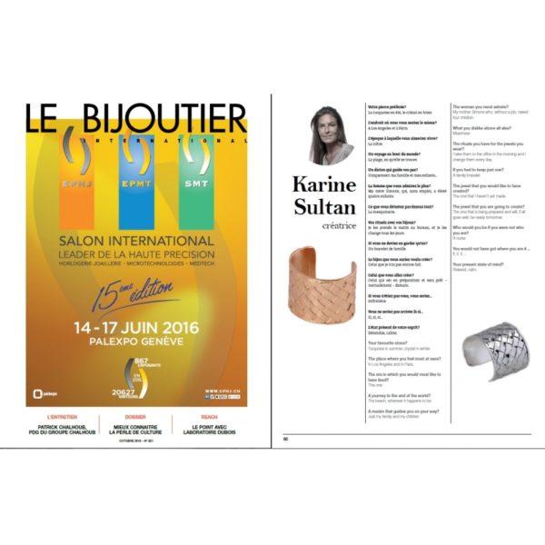 Le Bijoutier Novembre 2015