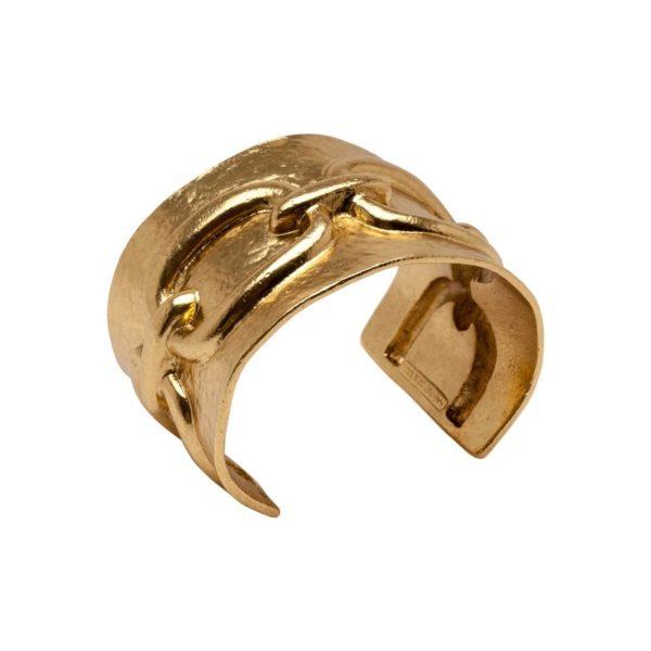 B58090.30 - Bracelet doré à l'or fin 24 carats avec un dessin de chaine