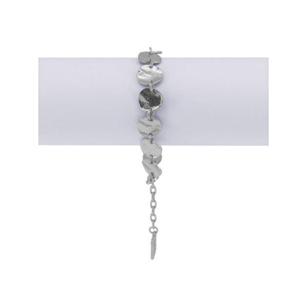 B61031.20 - Bracelet argenté au 925 Sterling avec des petits médaillon