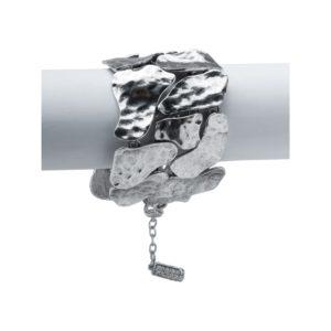 B57039.40 - Bracelet argenté au 925 Sterling design à pavé