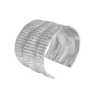 B62062.20 - Bracelet argenté au 925 Sterling avec un design de mailles