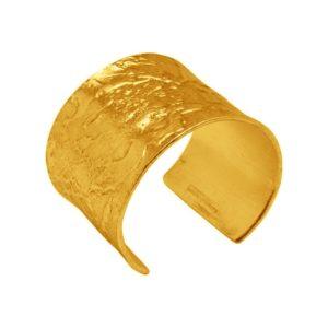 B60074.10 - Bracelet épais doré à l'or fin 24 carats