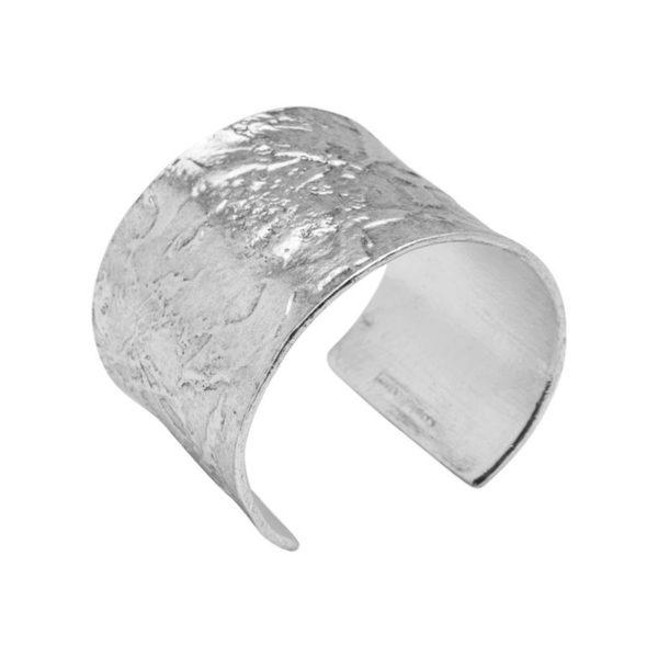 B60074.40 - Bracelet épais argenté au 925 Sterling