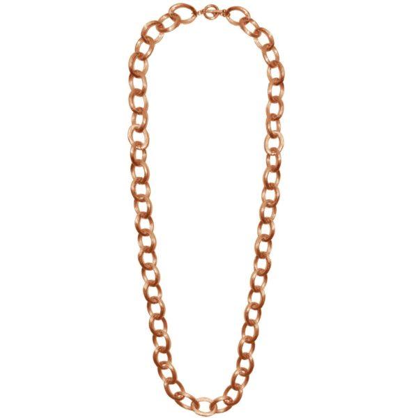 N60035.50 - Collier étain doré rose 24 carats