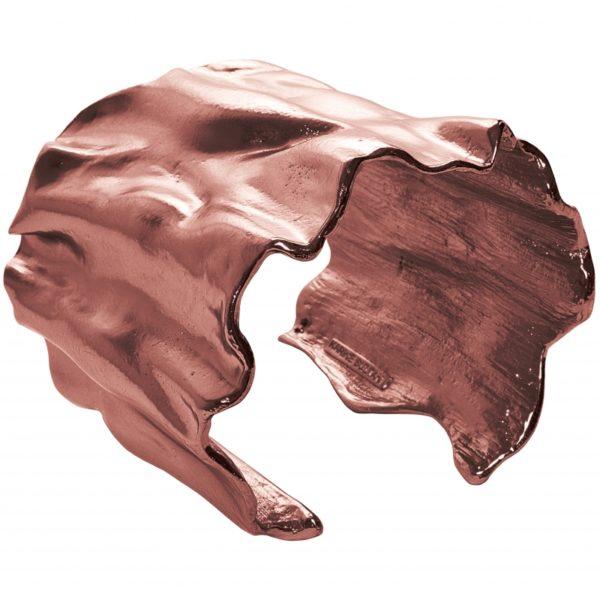 B63062.60 - Bracelet étain bronze de forme ondulée