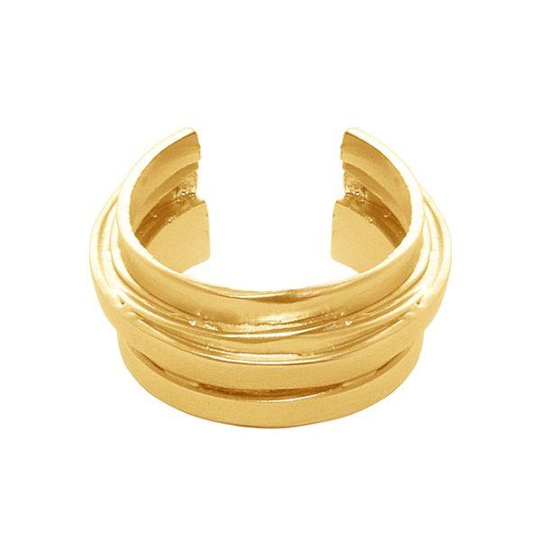 R63171.10 - Matte gold ring