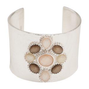 B55057.24 Bracelet brillant argenté au 925 Sterling