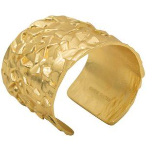 B64033.10 - Bracelet doré à l'or fin 24 Carats inspiré par la nature