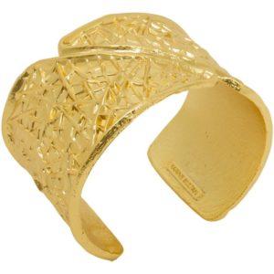 B64047.10 - Bracelet étain doré à l'or fin 24 Carats