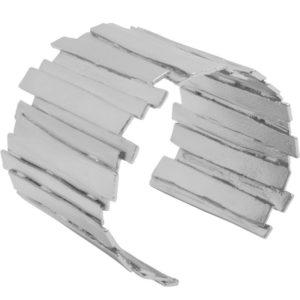 B64052.40 - Bracelet argenté aux 925 Sterling un design de barres empilées