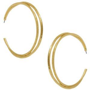 E58041.10 - Boucles d'oreilles glamour doré