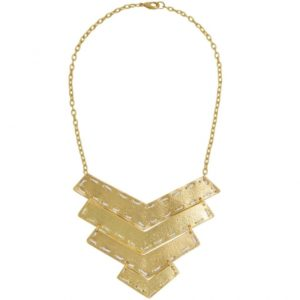 N64006.01 - Gold statement necklace
