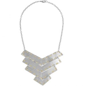 N64006.02 - Silver statement necklace