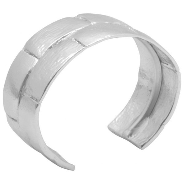B64073.20 - Bracelet argenté au 925 Sterling design rectangulaire