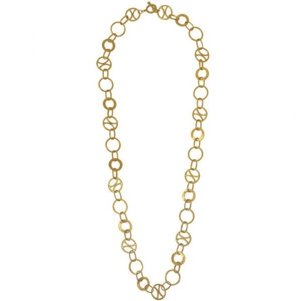 N66027.30 - Collier doré de style Antique