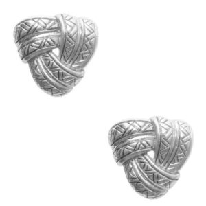E62100.40 - Boucles d'oreilles argenté style antique