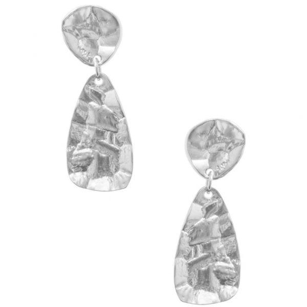 E64036.40 - Boucles d'oreilles argenté style antique