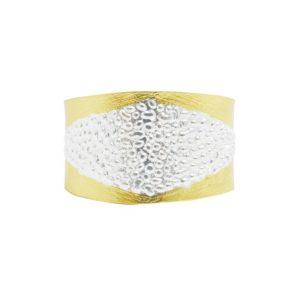 B64013.01 - Bracelet moderne doré et argenté