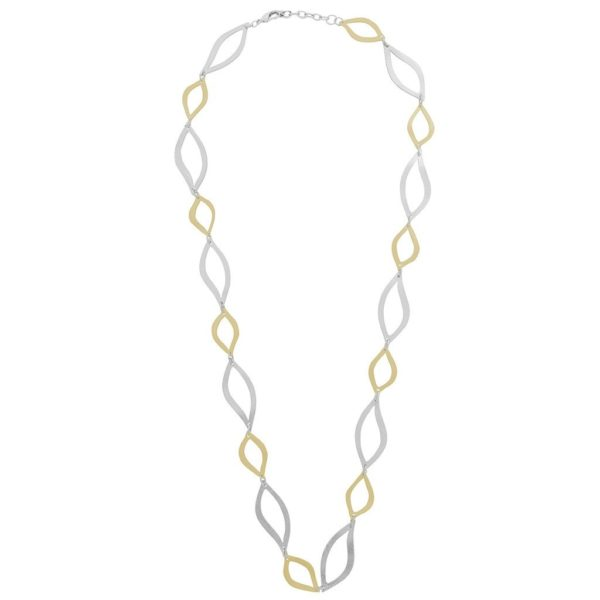 N64061.02 - Collier élégant argenté et doré