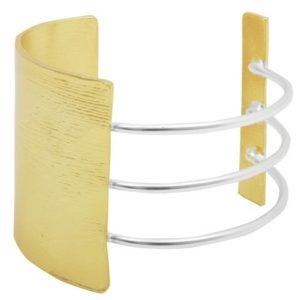 B64056.01 - Bracelet doré et argenté