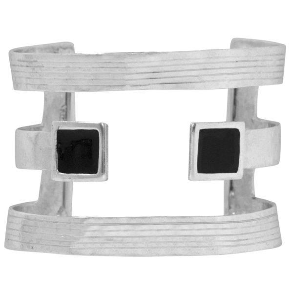 B67079.43 - Brassard moderne argenté
