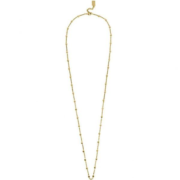 N67024.30 - Chaine fine avec petite pépite doré