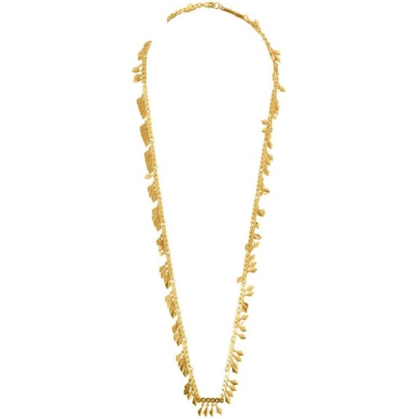 N67083.10 - Long collier simple doré