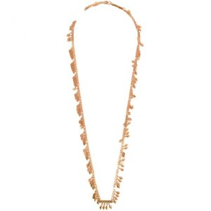 N67083.50 - Long collier simple doré rose