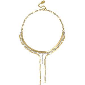 N66703.01 - Magnifique collier doré et argenté