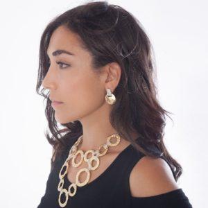 E67110.02 - Boucles d'oreilles doré et argenté