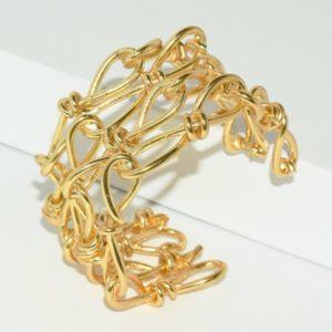 B80150.10 - Bracelet doré à l'or fin 24 Carats