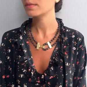 N80039.13 - Magnifique collier doré élégant