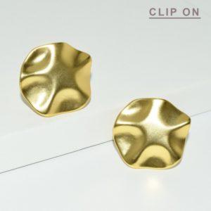 Boucle d'oreille doré - E68037