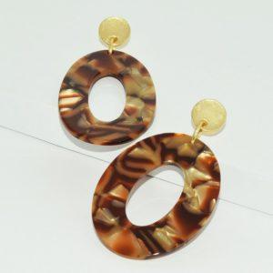 E68077.10 - Boucles d'oreilles doré