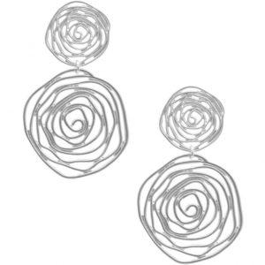 E64135.20 Boucles d'oreilles argentées
