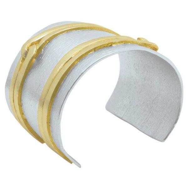 B64058.02 - Bracelet doré et argenté