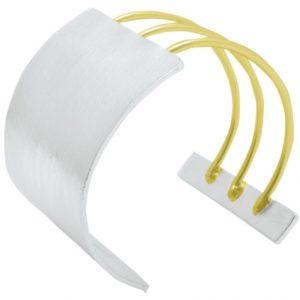 B64056.02 - Bracelet argenté et doré