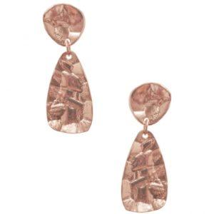 E64036.50 - Boucles d'oreilles doré rose style antique